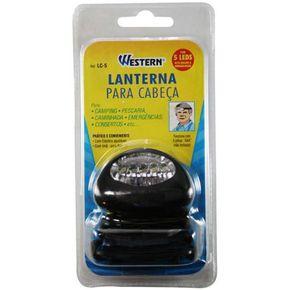 Lanterna Para Cabeca Com 5 Leds - Lc-5 - Western